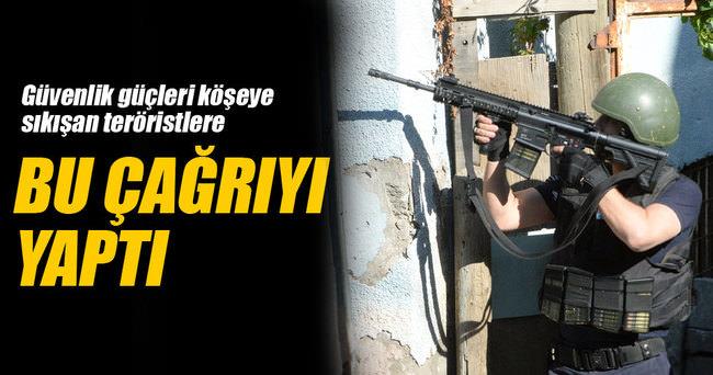 Teröristlere 'ölümü değil yaşamayı seçin' çağrısı
