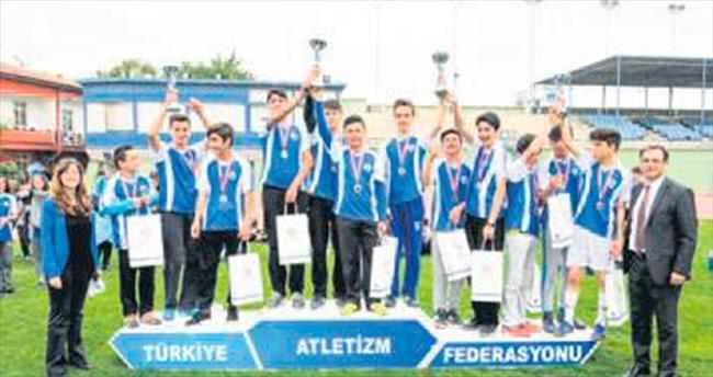 Gençlik Koşusu'nun kazananı Altındağ