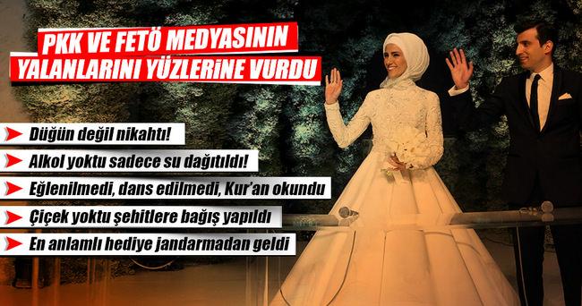 Mevlüt Tezel FETÖ ve PKK medyasının nikah üzerinden uydurduğu yalanları yazdı