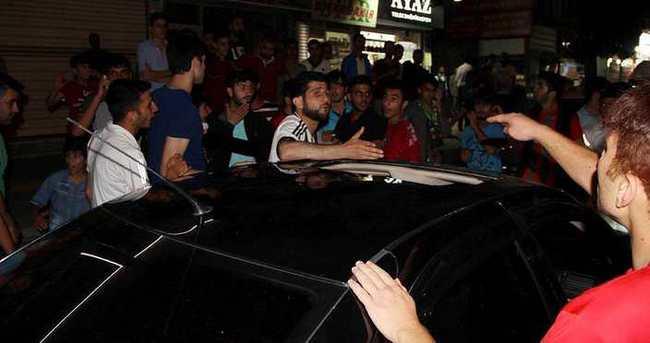 Şampiyonluğu kutlayan Beşiktaşlılara saldırı
