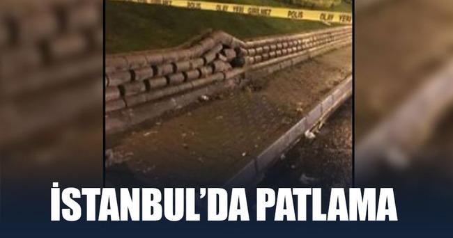 İstanbul Maltepe'de patlama