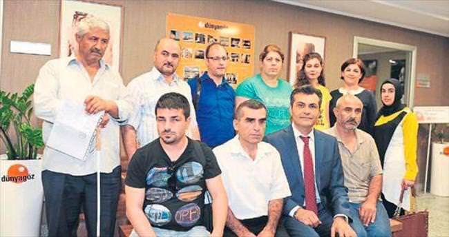 Dünyagöz Adana engellileri unutmadı