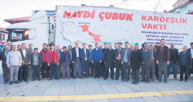 Ankara'dan Bayırbucak Türkmenleri'ne yardım