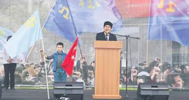 Kırım Tatar sürgünü matem mitingi