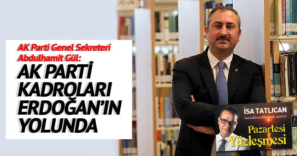 AK Parti kadroları Erdoğan'ın yolunda