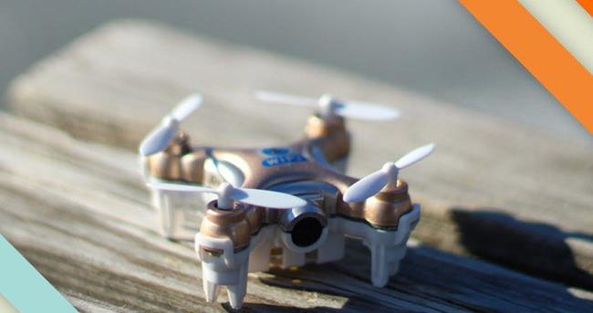 Dünyanın en minik kamerası Drone incelemesi