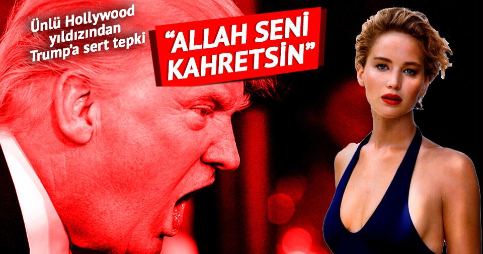 Ünlü Hollywood yıldızdan Trump'a: Allah seni kahretsin!