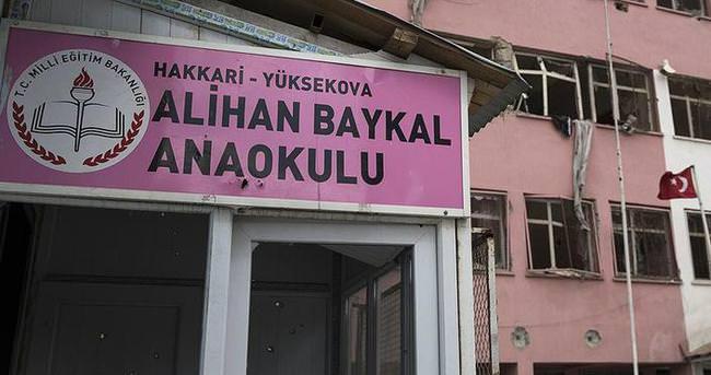 Teröristlerin harabeye çevirdiği okullara yeniden inşa kararı