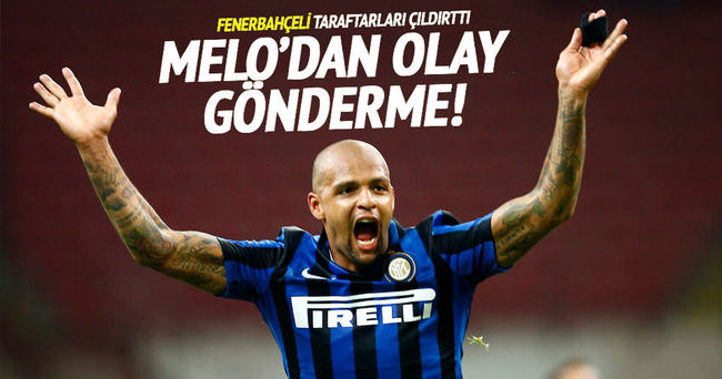 Melo'dan Fenerbahçe taraftarını kızdıran gönderme!