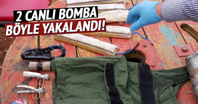 Şanlıurfa'da 2 canlı bomba yakalandı!