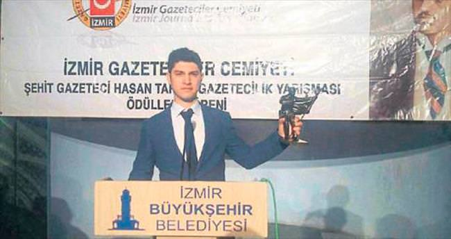 Egeli Sabah muhabirine ödül