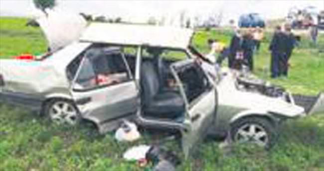 Otomobil devrildi: 1 ölü, 6 yaralı