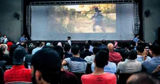 Gazze Festivali'nde 66 film gösterildi