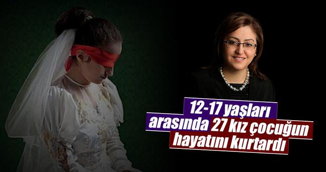 Fatma Şahin 27 çocuğu gelin olmaktan kurtardı