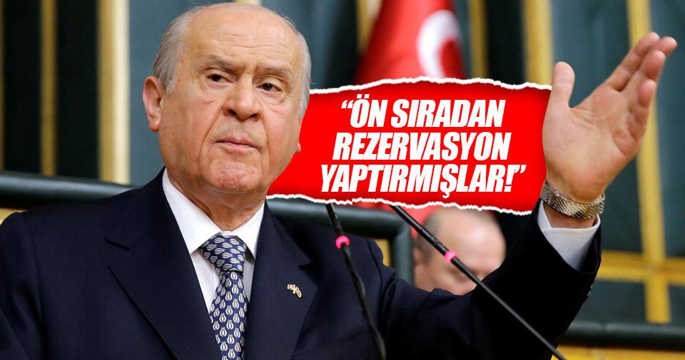 Bahçeli'den FETÖ, HDP ve Cumhuriyet'e sert tepki