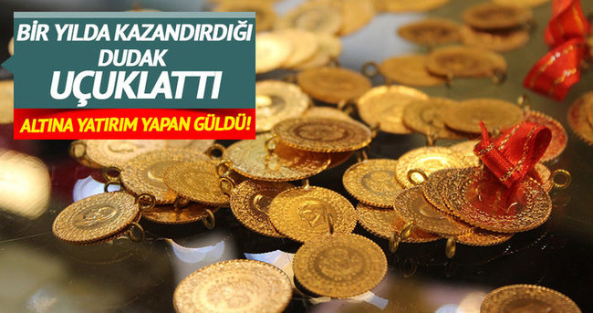 Çeyrek altın bir yılda 34 lira yükseldi