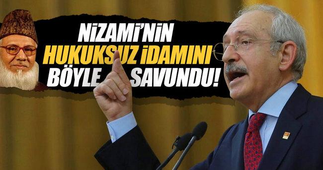 Kemal Kılıçdaroğlu Nizami'nin idamını haklı buldu!