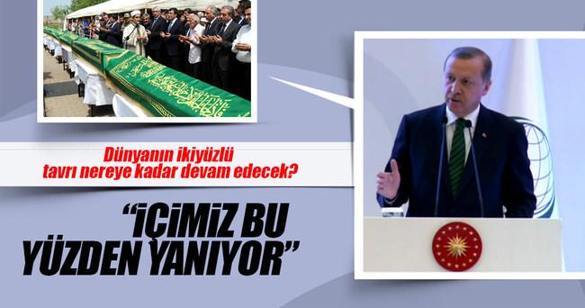 Erdoğan'dan dünyaya 'terör' tepkisi