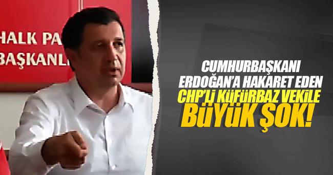 CHP'li küfürbaz vekile soruşturma açıldı!