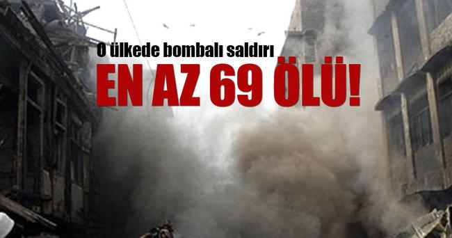 Bağdat'ta bombalı saldırı: En az 69 ölü