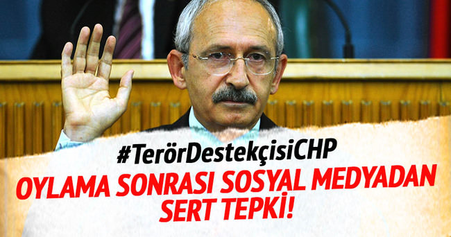 Oylama sonrası CHP'ye sosyal medyadan sert tepki