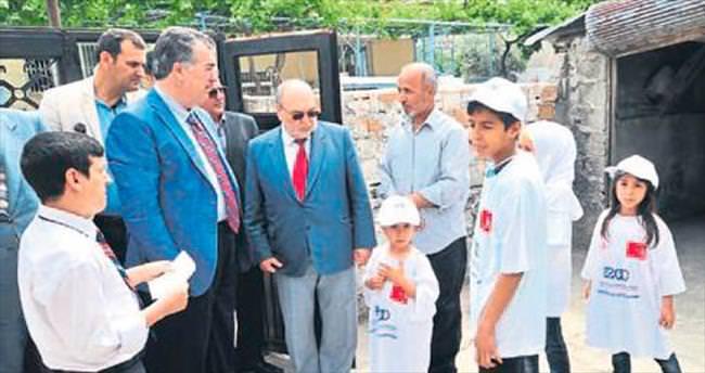 Vali Kerem Al'dan Suriyelilere ziyaret