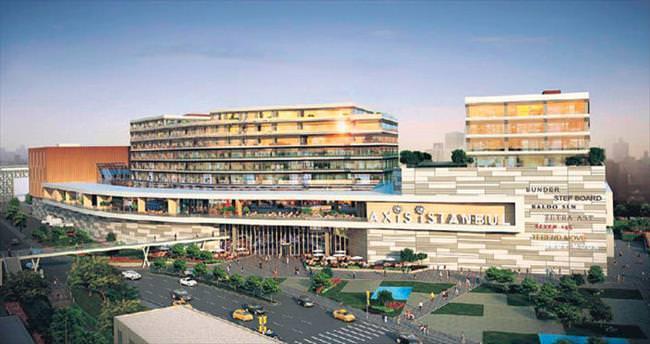 Sur Yapı'nın Axis İstanbul A+ ofis projesinde ile ilgili görsel sonucu