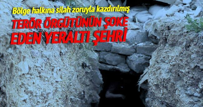 DAEŞ'in yeraltı şehrine girdiler
