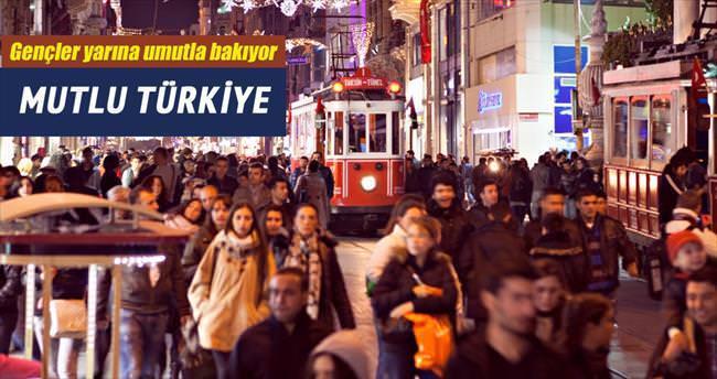 Türkiye'de gençlerin yüzde 63.87'si mutlu
