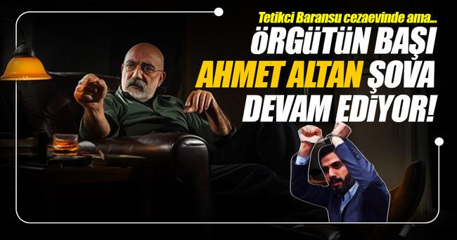 Ahmet Altan şova devam ederken tetikçisi cezaevinde!