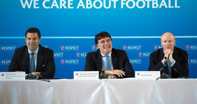 UEFA başkanlık seçimi 14 Eylül'de