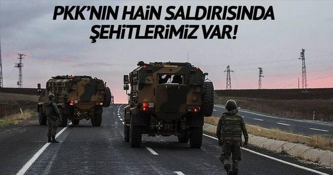 Şemdinli'de saldırı: 4 şehit!