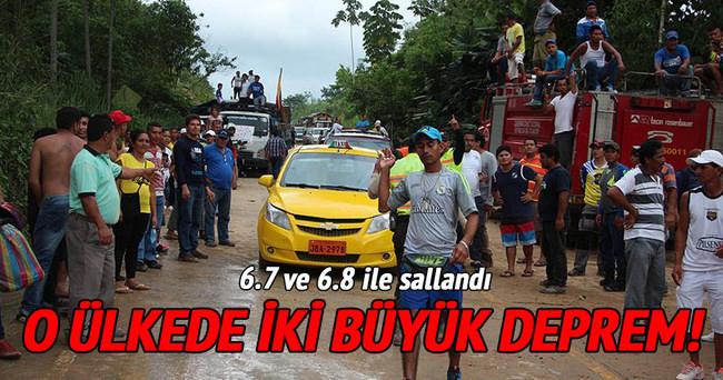 O ülkede büyük deprem!
