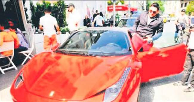Ferrari kazasında tatlı son