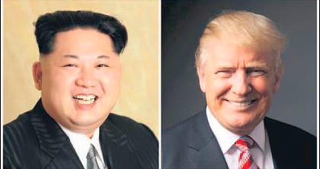 Trump: Kuzey Kore ile masaya otururum