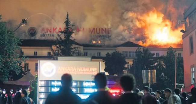 Ankara Numune'de faciadan dönüldü
