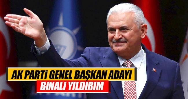 AK Parti'nin tek genel başkan adayı Binali Yıldırım
