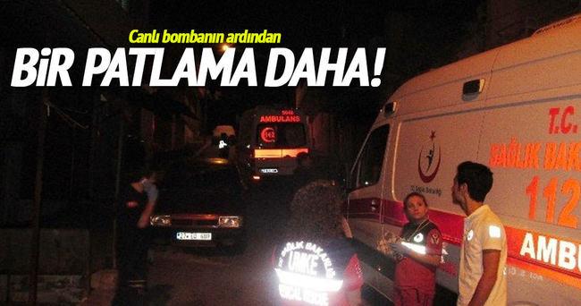 Gaziantep'te ikinci bir patlama daha!