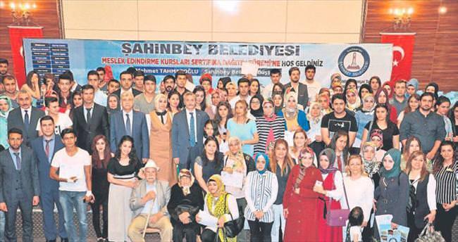 Mesleki eğitimde Şahinbey'in ordusu