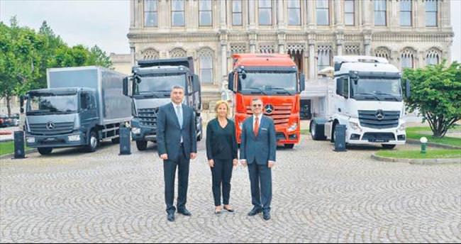 Mercedes-Benz kamyonlar yenilendi