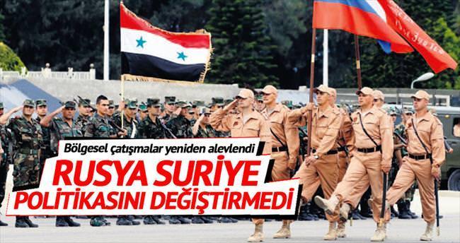 Rusya'nın Suriye'deki varlığında değişiklik yok