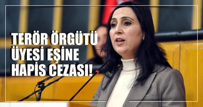 Figen Yüksekdağ'ın eşine 7 yıl 6 ay hapis cezası