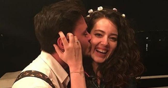 Pelin Akil ile Anıl Altan evliliğe ilk adımı attı