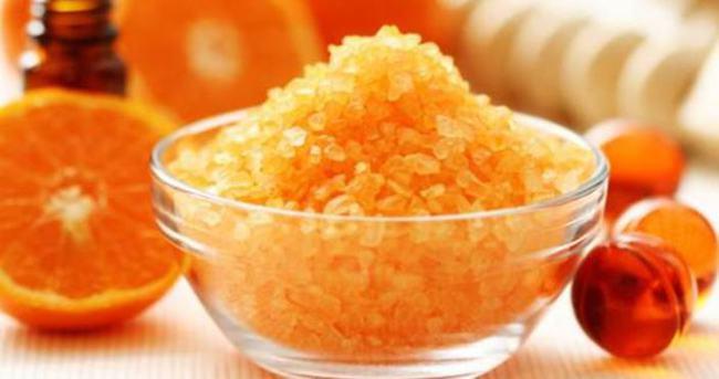 Portakal yağıyla güzelleşmeye ne dersiniz?