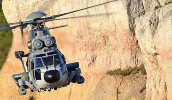 Fransa'da polis helikopteri yere çakıldı, kurtulan yok