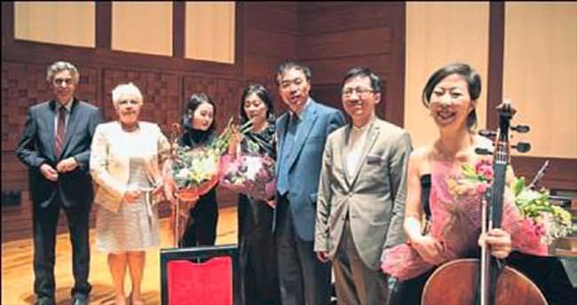 Festivalin kapanışı Çinli sanatçılardan