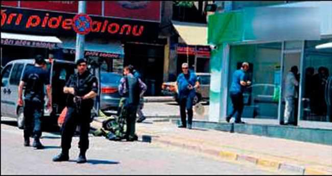 'Çakma' bombayla soygun girişimi