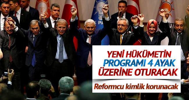 Ekonomide reformcu kimlik korunacak