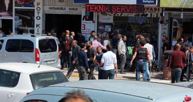 Canlı bomba şüphelisi şehrin göbeğinde yakalandı
