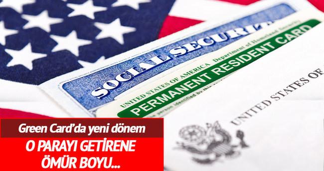 500 bin dolar getiren yatırımcıya Green Card
